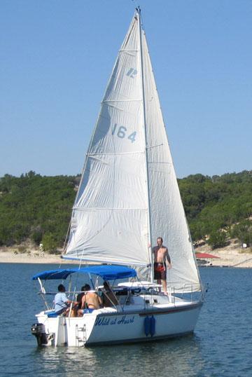 1986 Hunter 25.5 sailboat