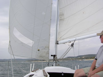 1986 Hunter 25.5 sailboat