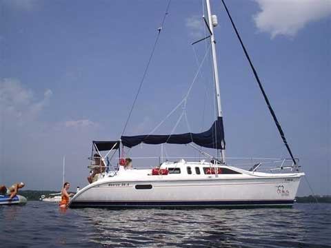 Hunter 29 5 Sailboat For Sale