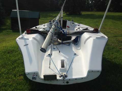 C&C SR21 MAX sport boat, 1985, sailboat