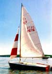 1975 Flying Scot sailboat