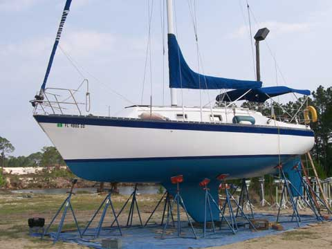 Hunter 30 sailboat