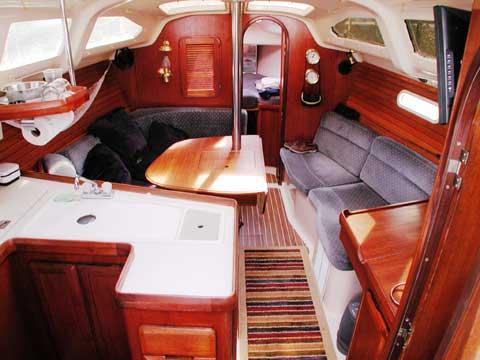 Hunter 336 sailboat