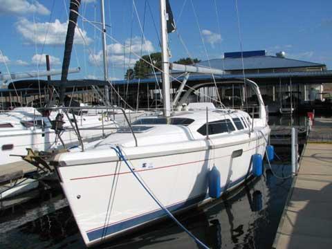 Hunter 340 sailboat