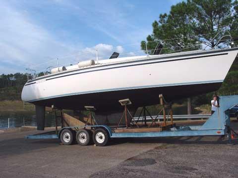 Hunter Legend 35 sailboat