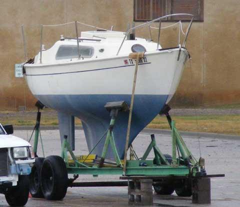 Hurley 18 sailboat