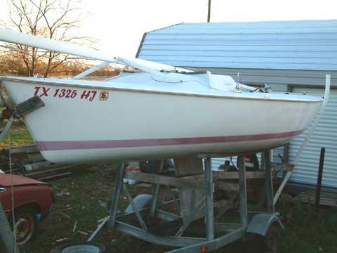 Impulse 21 sailboat