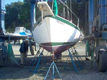 1972 Irwin 10/4 sailboat