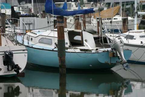 Irwin 27 sailboat