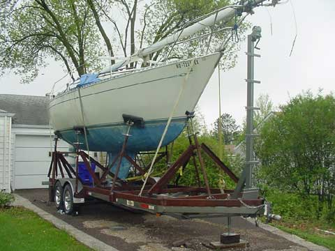 Islander 28 sailboat