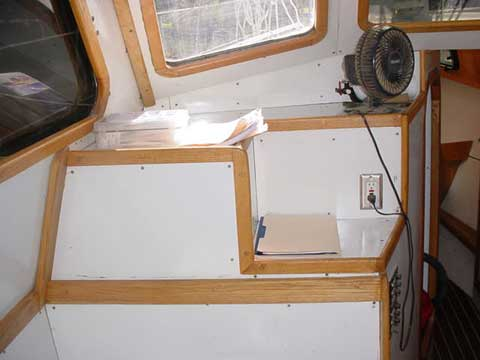 Islander 37 sailing boat
