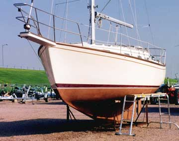 1987 Island Packet 31 sailboat