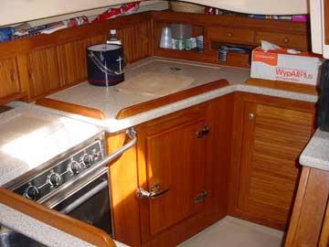 1996 Island Packet 40 sailboat