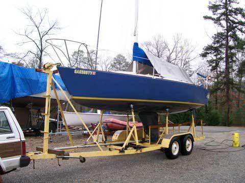 J/24 sailboat