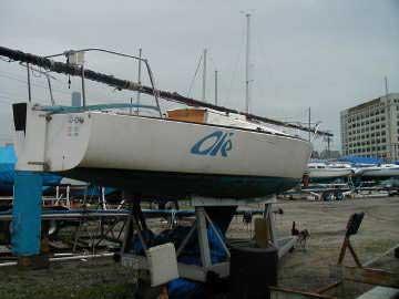 1978 J24 sailboat