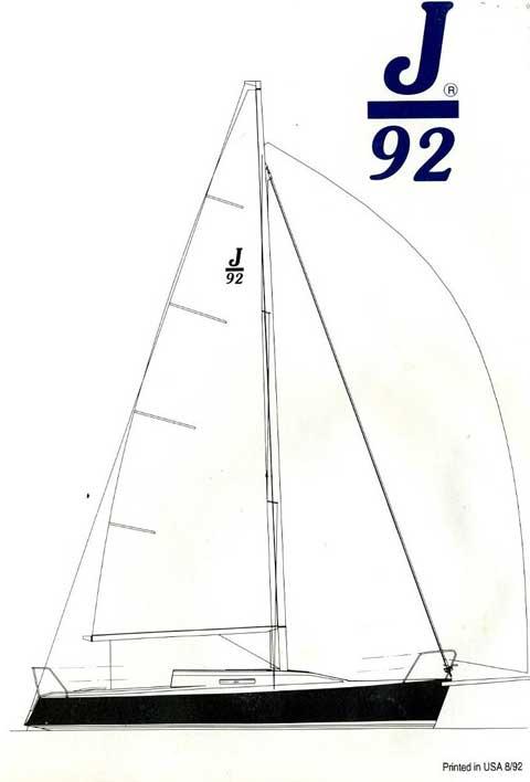 J/92 sailboat