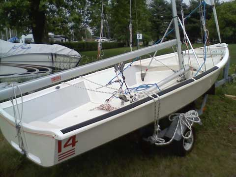 Jay Cross 14 sailboat