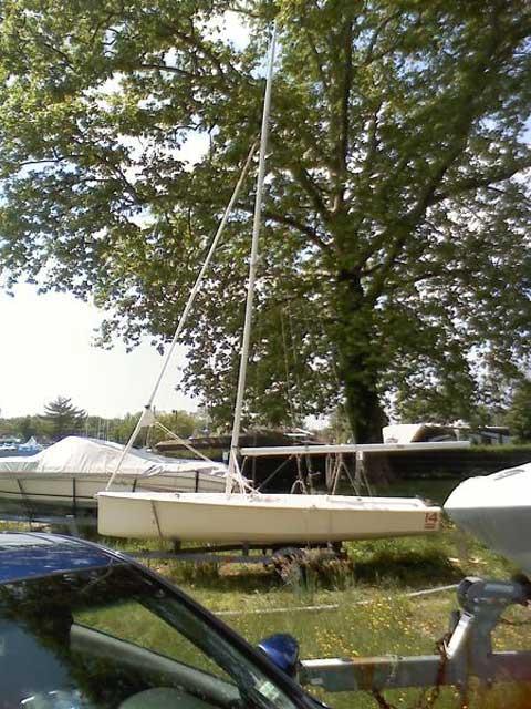 Jay Cross 14 sailboat