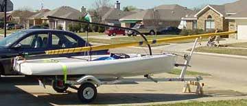 2004 Johnson Outdoors Escape 13 sailboat