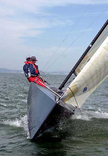 JS 9000 sailboat