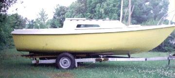 1977 Kells 23 sailboat