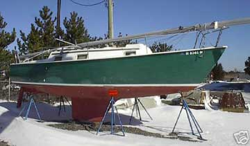 1976 Kells 28 sailboat
