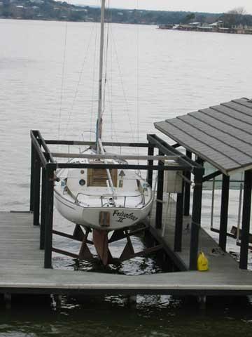 1972 Kenner Kittiwake 23 sailboat