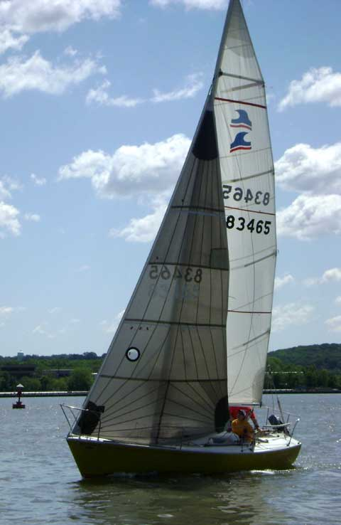 Sailboat Trailer For Sale >> Kirby 25 sailboat for sale