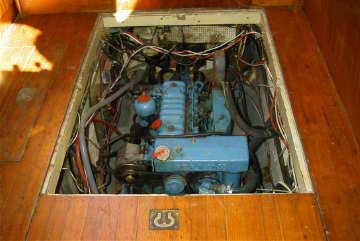 Landfall 39, perkins diesel engine