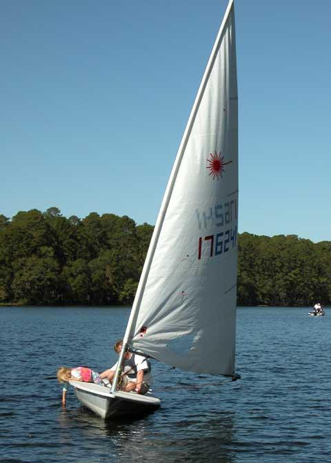 Laser Race Pro Sailboat For Sale