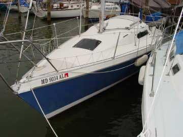 1985 Laser 28 sailboat