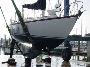 1968 Allied Luders 33 sailboat