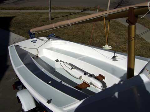Oday Widgeon sailboat