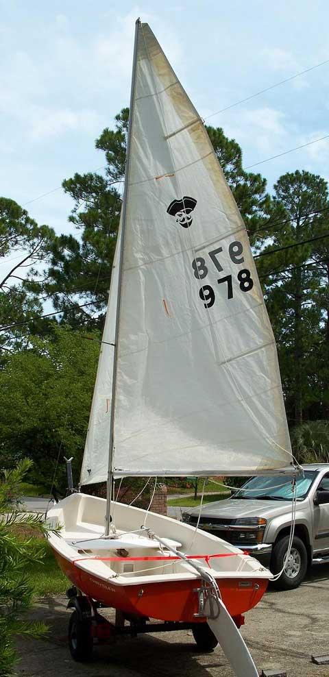 Chrysler Pirateer 13 sailboat
