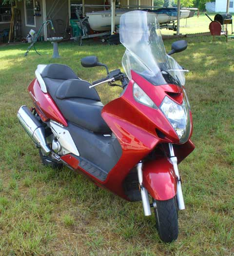 Honda Silverwing scooter
