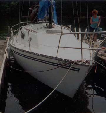 1979 Spirit 28 sailboat