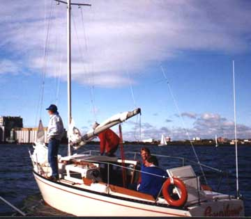 1980 Thunderbird 26 sailboat