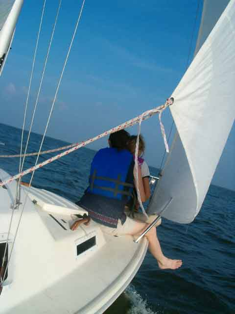 2001 West Wight Potter 19 sailboat