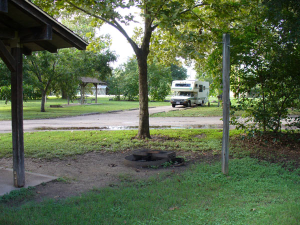 Campsite at Blanco State Park