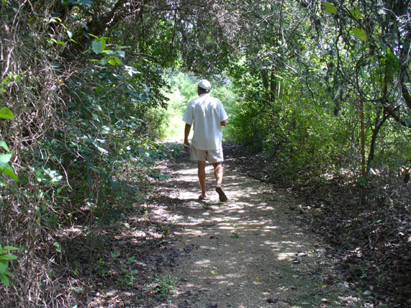 Caswell Nature Trail at Blanco State Park