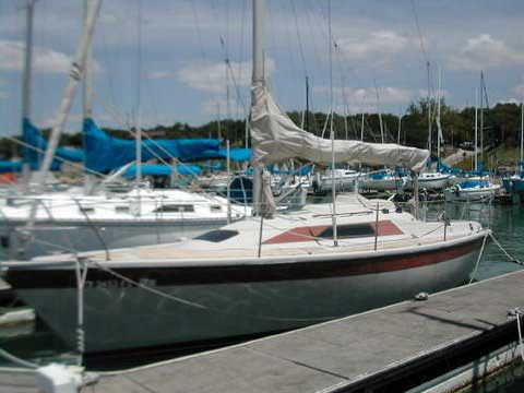 1986 Dehler 31 sailboat