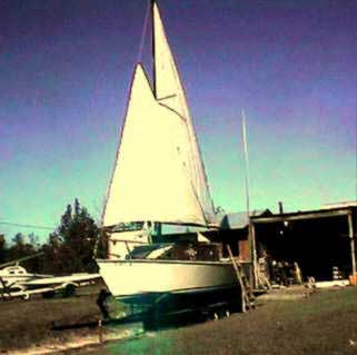 1999 Glen L-19 Sloop Cruiser sailboat