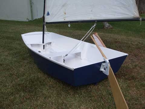 Glen L 8 Ball dinghy