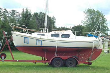 1981 Halman 20 sailboat