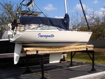 1992 Ideal 18 sailboat