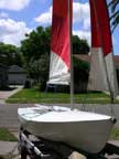 early 1970's Chrysler Lone Star 13 sailboat