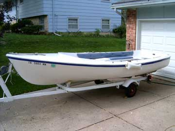 1971 Chrysler Lone Star 16 sailboat