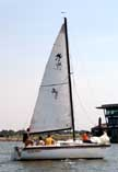 1985 Merit 23 sailboat