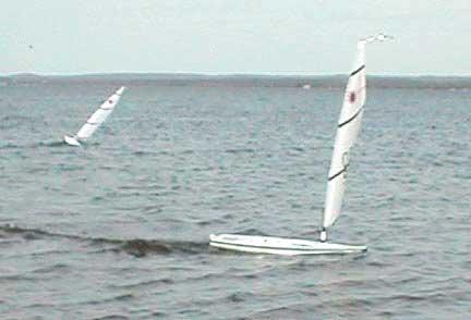 Rc Laser Sailboat
