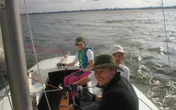 October 2004 sailing class